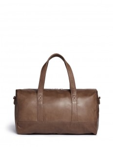 'Bel Ami' leather duffle bag