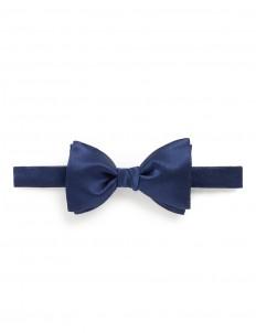 'New Alber' silk satin bow tie