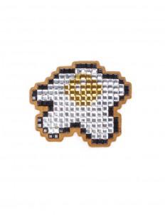 'Egg' diamanté embellished sticker