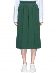 'Imri' Asian fit elastic waist culottes