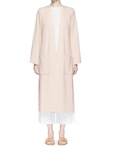 'Anya' open front long cardigan