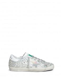 'Jelly Diamond' iridescent rubber sneakers