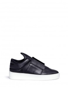 'Mountain Cut' leather slip-on sneakers