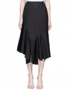 'Into You' asymmetric ruffle skirt