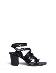 'Puket' stud strappy leather sandals