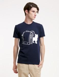 Navy Hi Miaw Tshirt