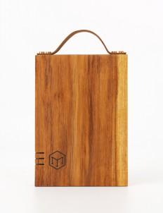 Mini Board with Leather Strap