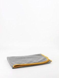 Gray Nebraska Baby Blanket
