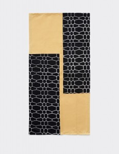 Multicolor Nona Bramara Table Runner
