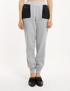 Gray Crossover Pants