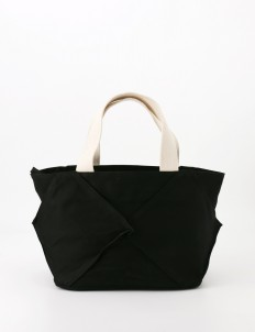 Origami Tote Bag with White Handles