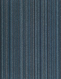 Shag Skinny Stripe door mat