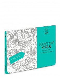 Pocket Colouring Map set — My Atlas
