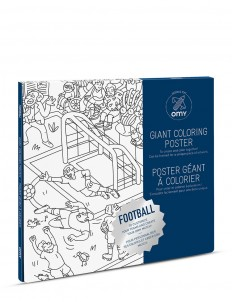 Giant Colouring Poster — Football