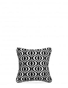 Waves Bargello needlepoint cushion
