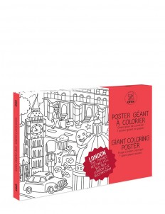 Pocket Colouring Map set — My London