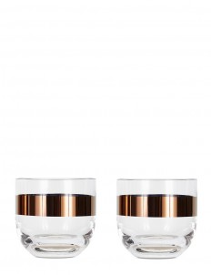 Tank whisky glass set