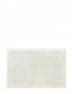 Super Pile small reversible bath mat — Ivory