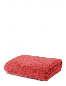 Super Pile bath sheet — Cayenne