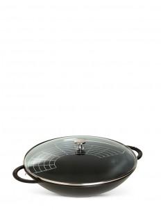 Cast iron 37cm wok