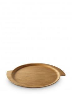 Spin bamboo tray