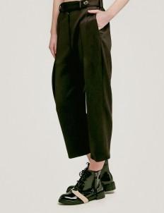 Black Rupert Straight Leg Trousers