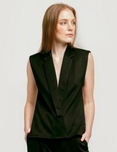 Black Florence Vest
