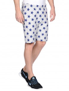 Athletic pant all over print track short