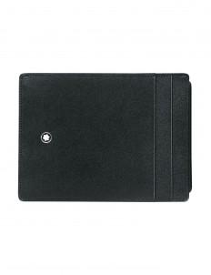 Wallet Meisterstück Pocket 4cc ID Card Black