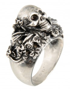 Ring ANELLO TESCHIO EDERA