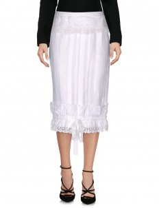 DOLCE \u0026 GABBANA 3/4 length skirt