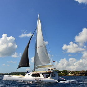 Catamaran Day Cruise to Nusa Lembongan