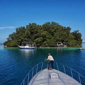 Quick Break on Pulau Macan