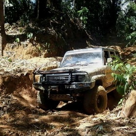 4x4 Off-Road Adventure Tour in Janda Baik