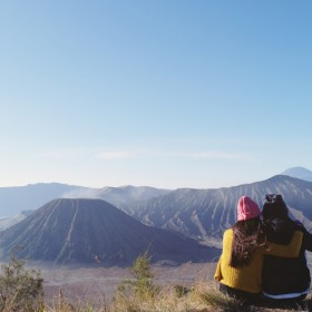 Chasing Sunrise at Mount Bromo