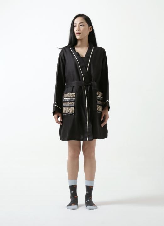 Svas Living Black Ichigo Kimono