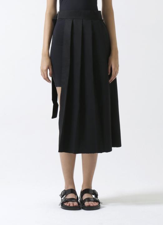 Aesthetic Pleasure Black Savage Skirt