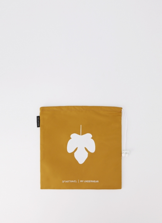 Seletti by LAFLO Brown My Underware Travel Pouch