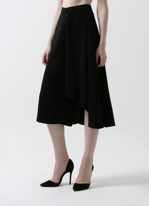 8Eri Black Fresia Skirt-Pants