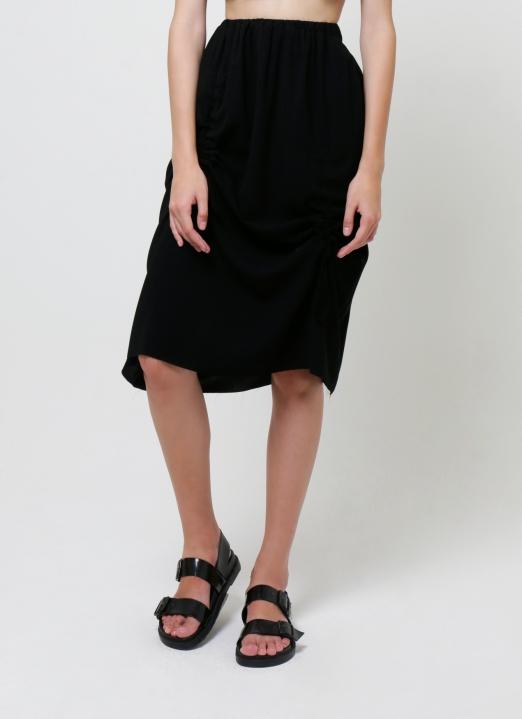 Aesthetic Pleasure Black Novelty Skirt