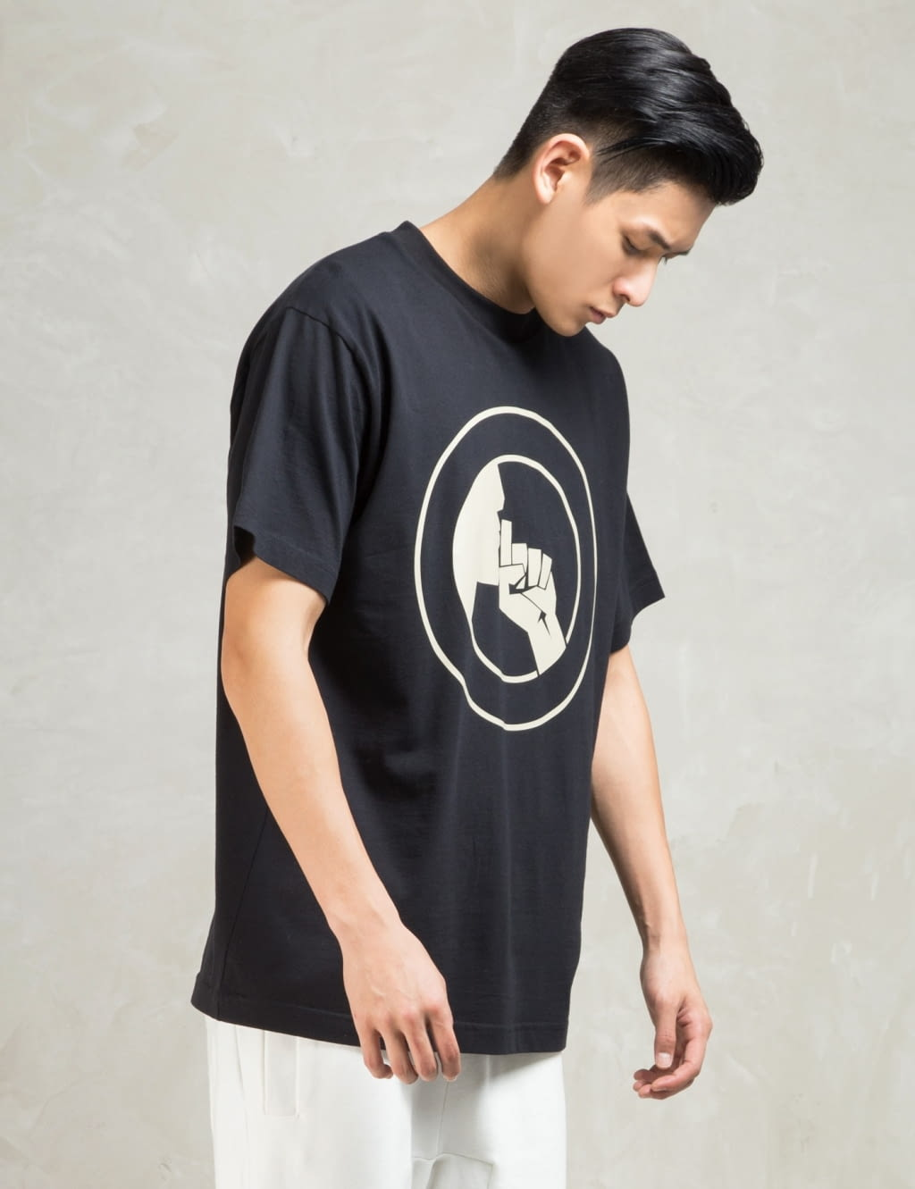 Buy Original Sons Black S Shush Crew T Shirt At Indonesia Bobobobo Baju Kaos Singlet Tanktop Fashion Pria