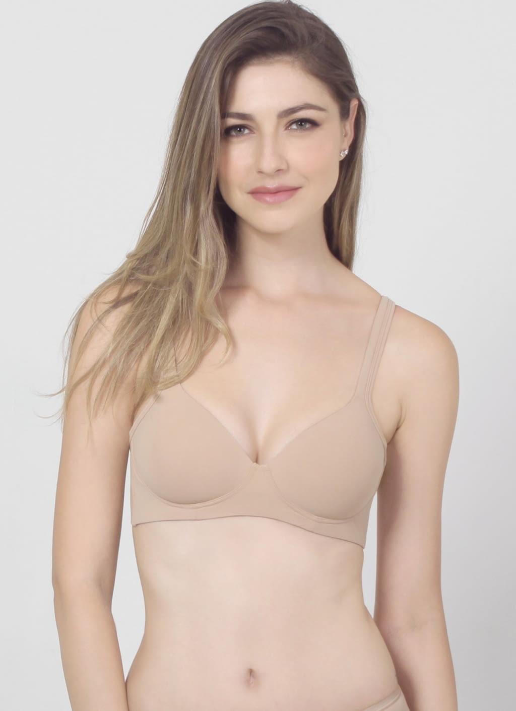 buy original raquel lingerie nude karlita basic bra at indonesia