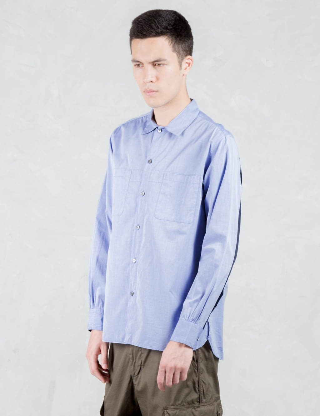 Jual Vallis By Factotum Tapered L S Shirt 100 Original Bobobobo Celana Pendek Jeans Double Stripe Soft Blue