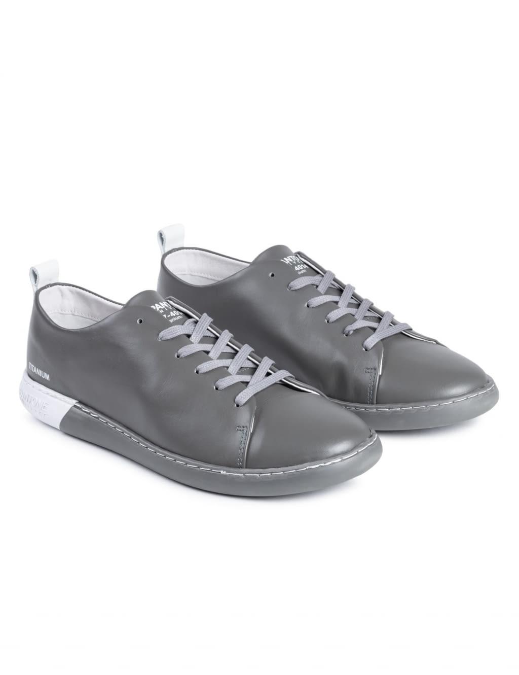 Nyc Cuir Métallique - Chaussures - Bas-tops Et Baskets Pantone DGsxKWKo