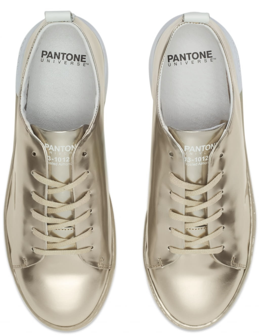 PANTONE UNIVERSE NYC Metallic Sneakers