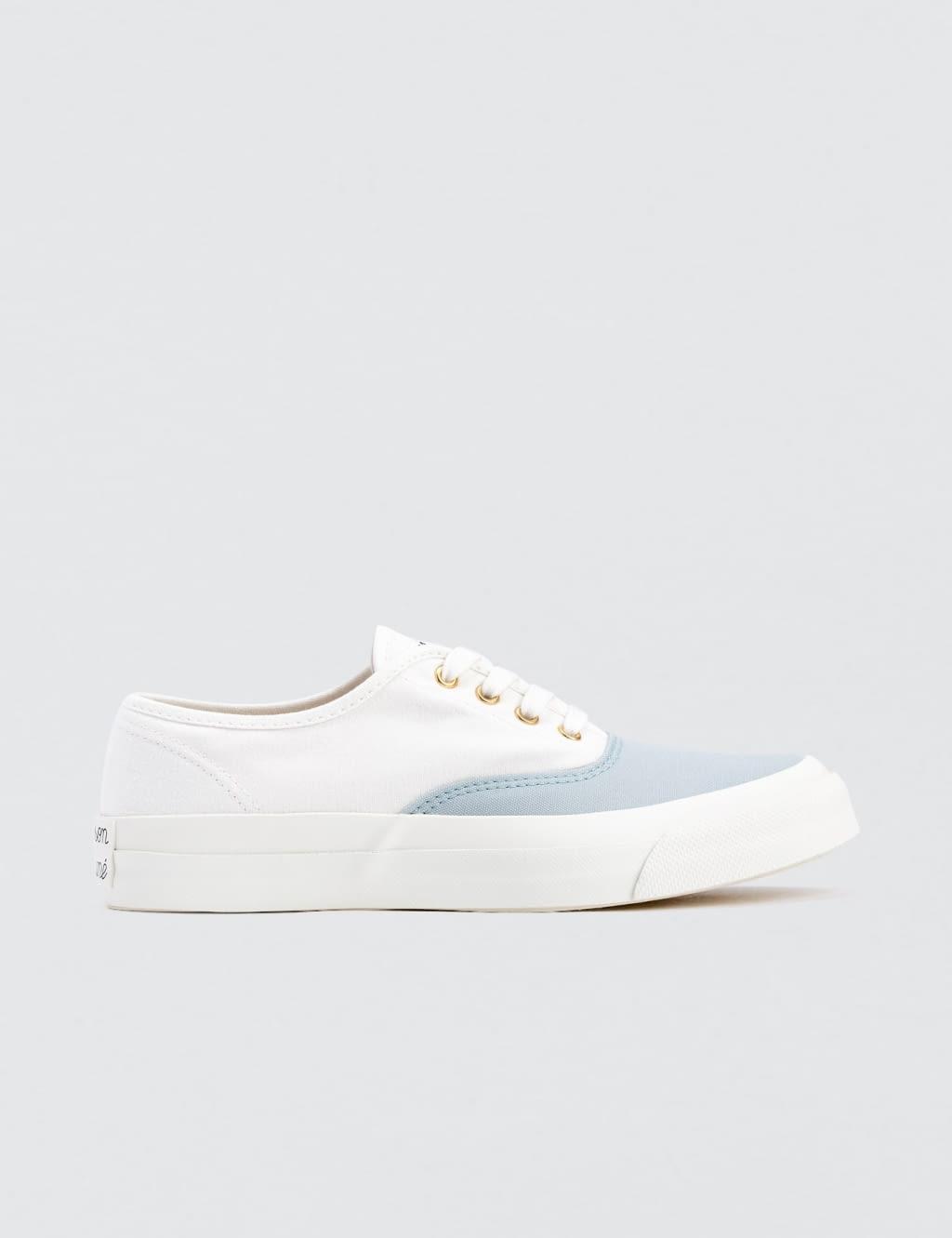 Maison Kitsuné Canvas Laced Sneakers - - EU 38/UK 5 wKkkv