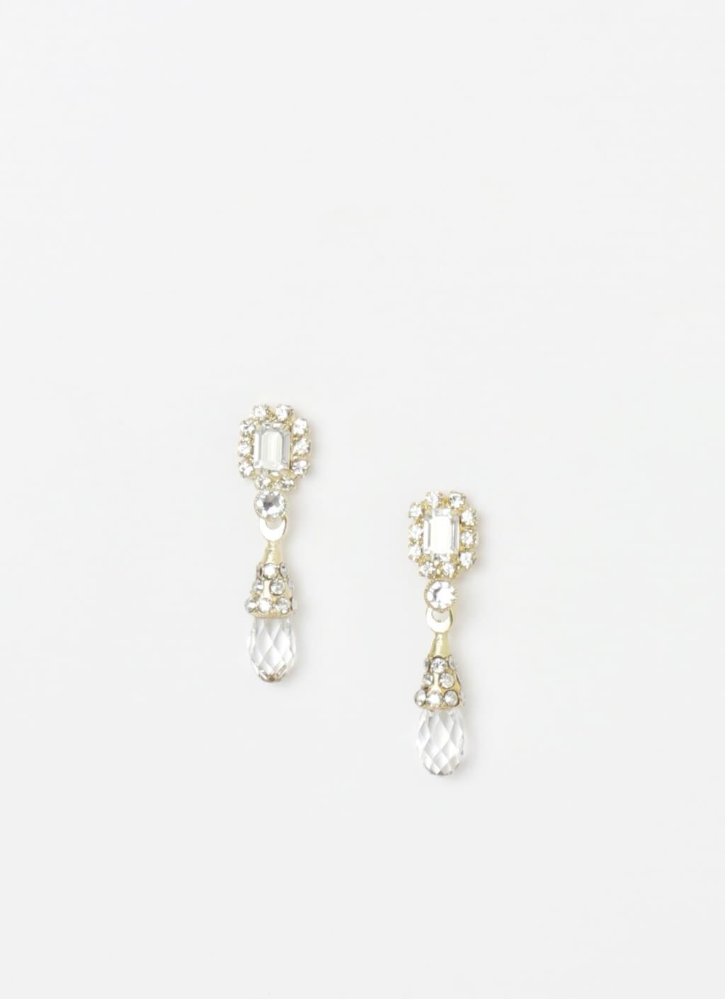 Buy Original EPAJewel Gold Small Sun Simple IV Earrings at ...