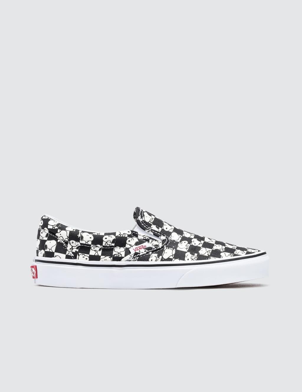 jual vans classic slip on checkerboard