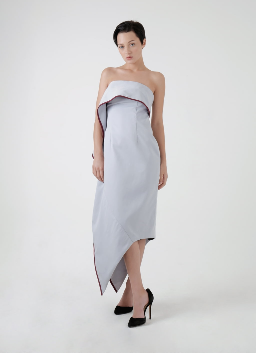 Buy original amanda rahardjo light gray contour dress at indonesia amanda rahardjo light gray contour dress ombrellifo Choice Image