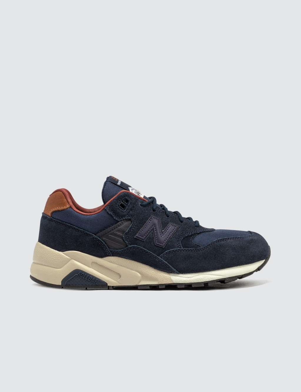 best service 5b840 e6233 clearance new balance 580 brown 1f506 b6d2b